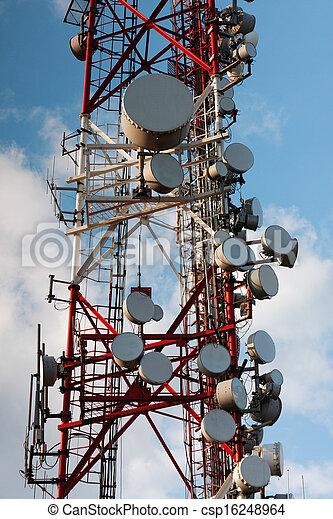 Large transmission tower - csp16248964
