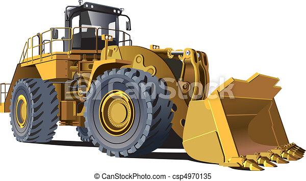 large wheel loader - csp4970135