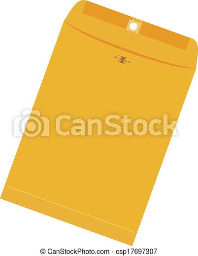 Large yellow envelope - csp17697307