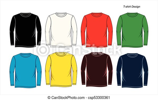 Camisa de hombre de largas mangas - csp53300361