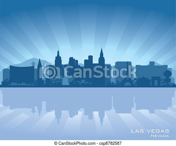 Las Vegas, Nevada Skyline - csp8782587