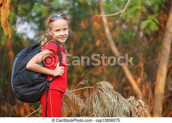 las, podróż - csp13806075