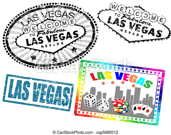 Estampillas de Las Vegas - csp5680012