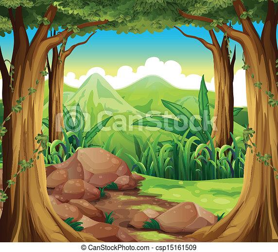 las, trzęsie się - csp15161509
