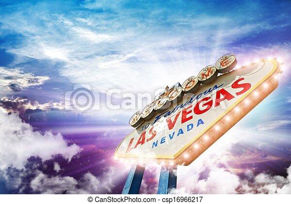 Bienvenidos a Las Vegas - csp16966217