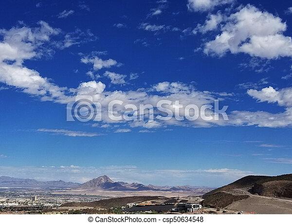 Las Vegas Henderson Nevada Landscape - csp50634548