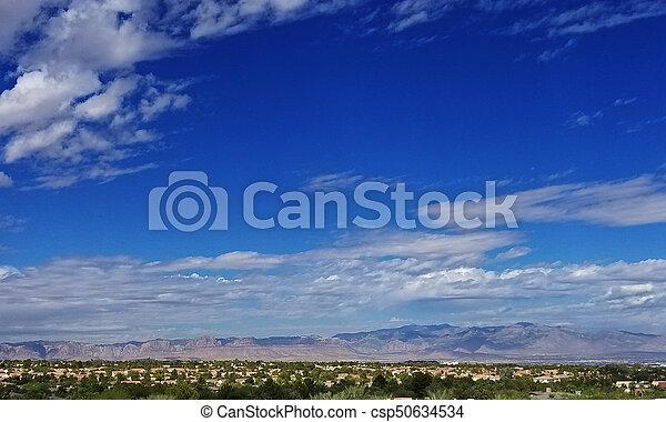 Las Vegas Henderson Nevada Landscape - csp50634534