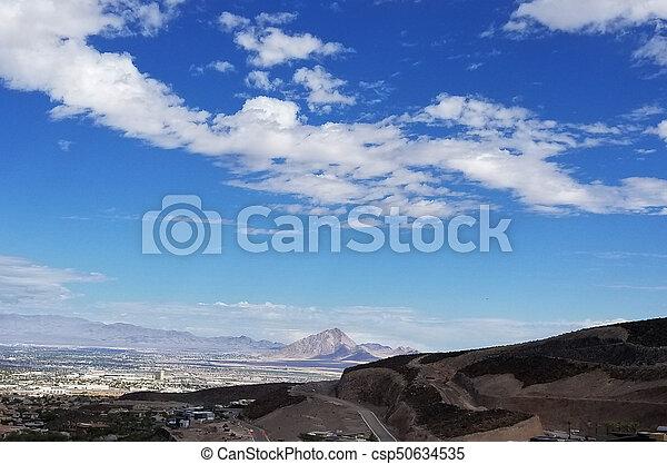 Las Vegas Henderson Nevada Landscape - csp50634535