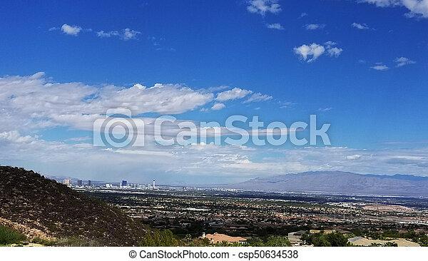 Las Vegas Henderson Nevada Landscape - csp50634538