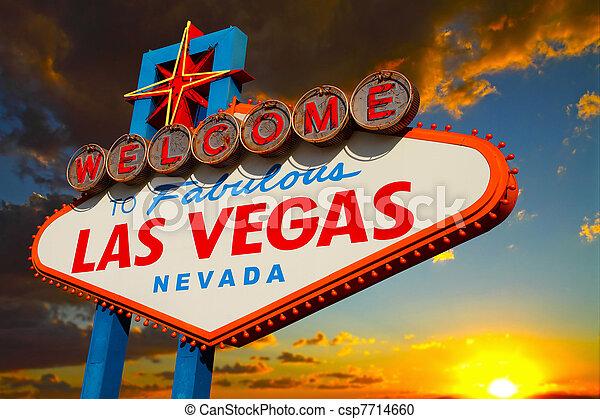 Las Vegas-Schild - csp7714660