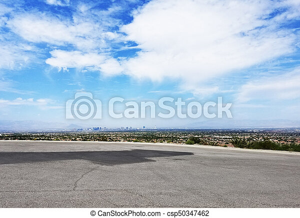 Las Vegas Nevada Cityscape - csp50347462