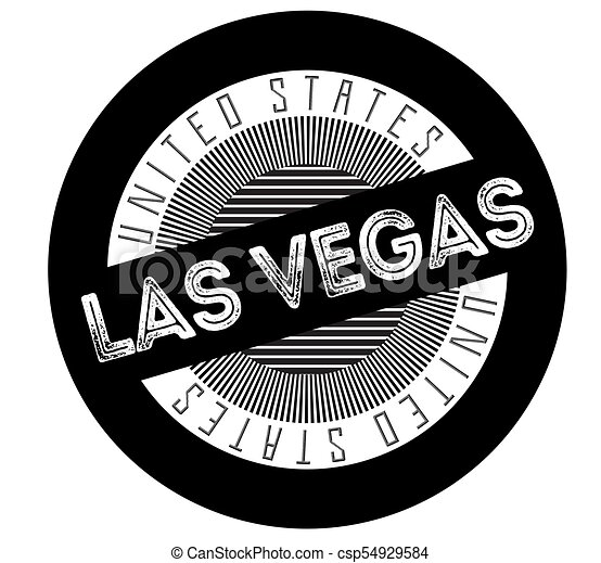 Las Vegas Typographic Stamp Typographic Sign Badge Or Logo