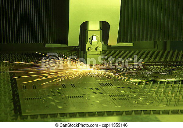 laser, cortador - csp11353146