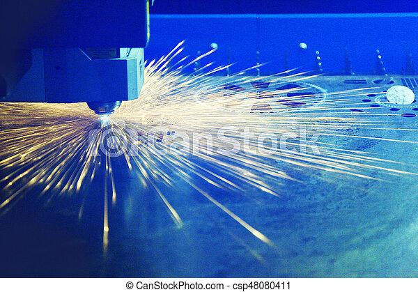 laser, corte, metal - csp48080411