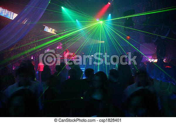 laser, disko - csp1828401