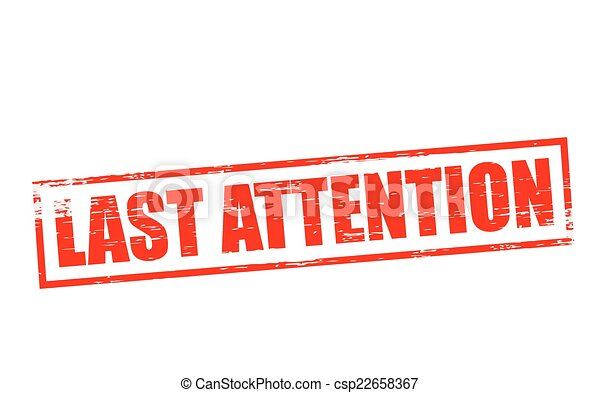 Last attention - csp22658367