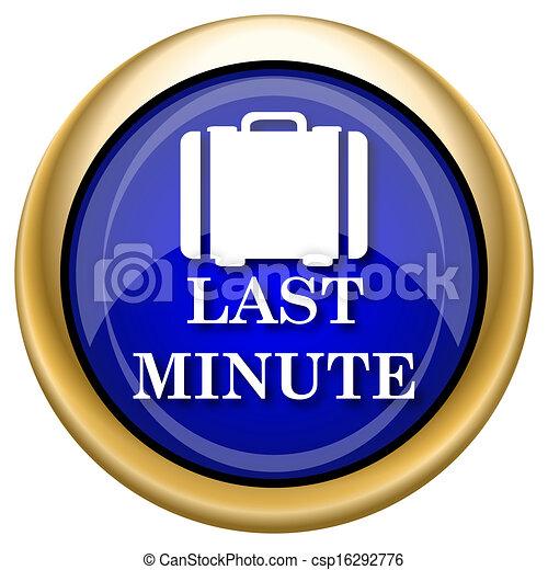Last minute icon - csp16292776