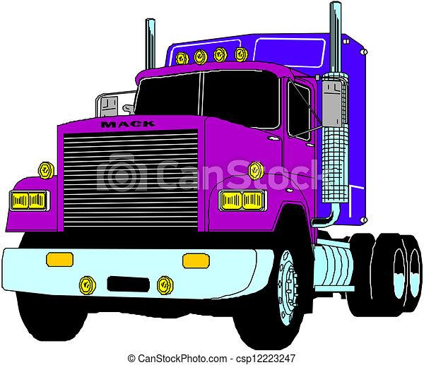lastbil - csp12223247