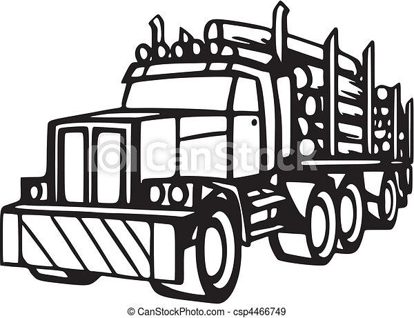 lastbil - csp4466749