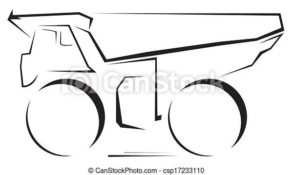 lastbil - csp17233110