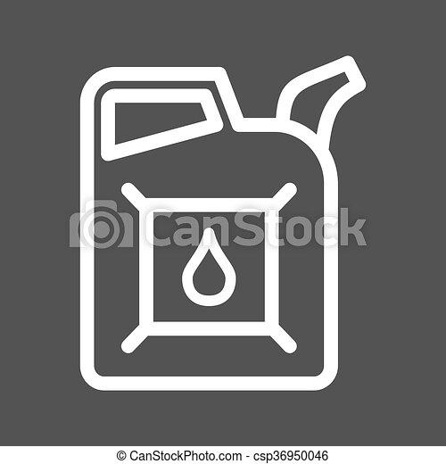 lata, aceite - csp36950046