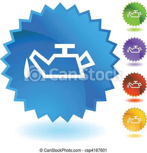 Lata de aceite - csp4167601