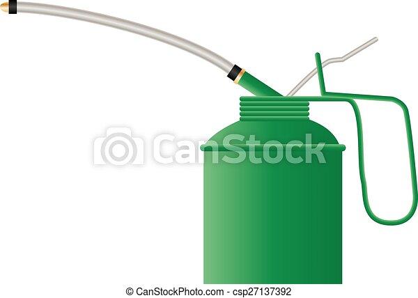 Latas de aceite - csp27137392