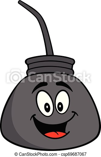 La mascota del petróleo - csp69687067