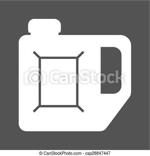 lata, gasolina - csp28847447