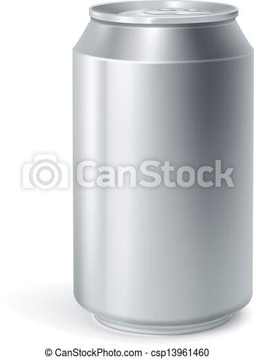 lata, vector, bebida - csp13961460