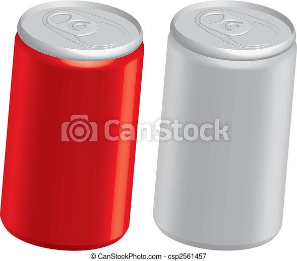 Latas de Cola - csp2561457