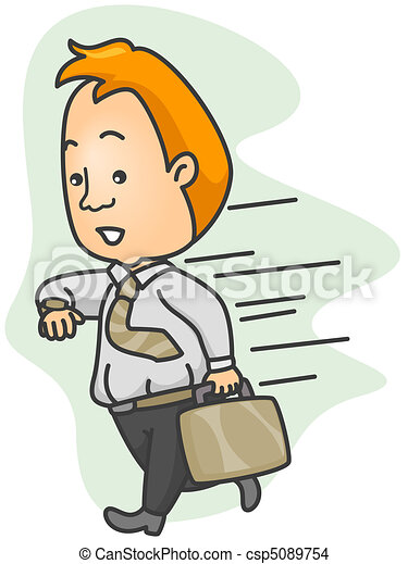 Running Late Stock Illustrations 1 650 Running Late Clip Art Images