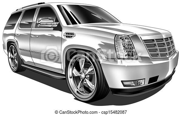 Late Model Custom SUV - csp15482087