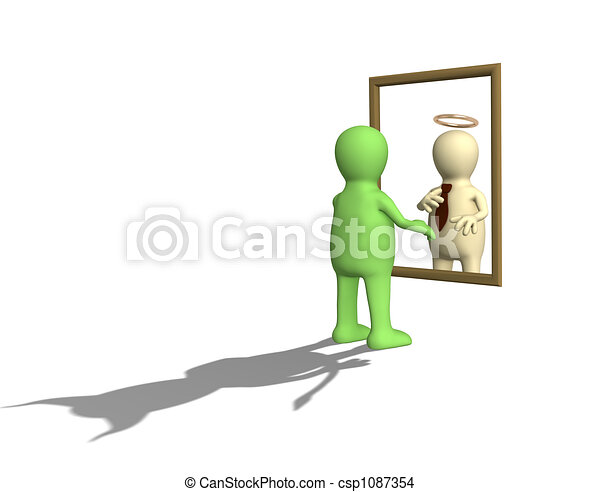 Latent character traits of the person - csp1087354