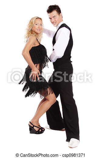 Latin dance - csp0981371