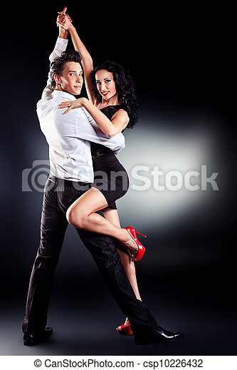 latin dance - csp10226432