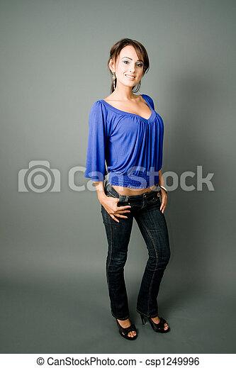 Tall busty latina