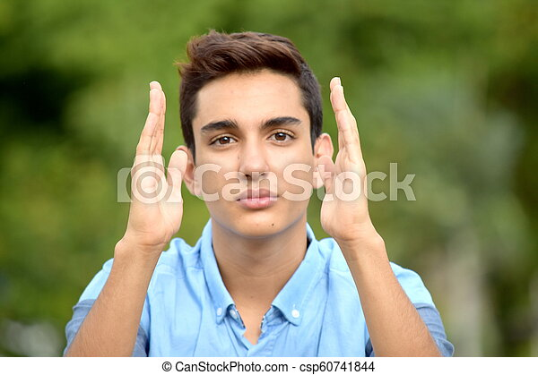 Latino boy thumbs free pic 455