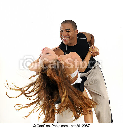 Latino dance instructor  - csp2612987