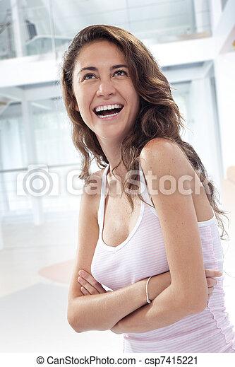 laugh - csp7415221