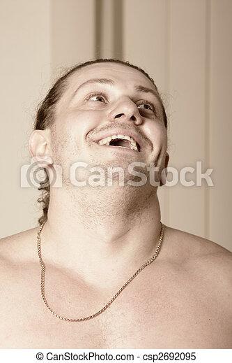 Laughing guy - csp2692095