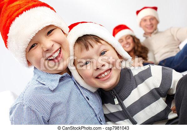 1fe416b05 Laughing Santas