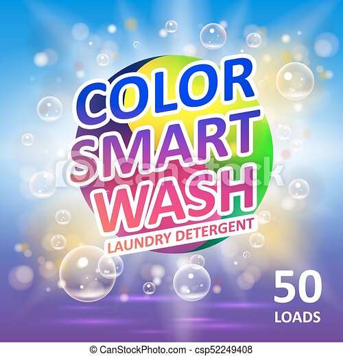 Laundry Detergent Package Ads Creative Soap Smart Clean Design Stunning Bathroom Clipart Creative