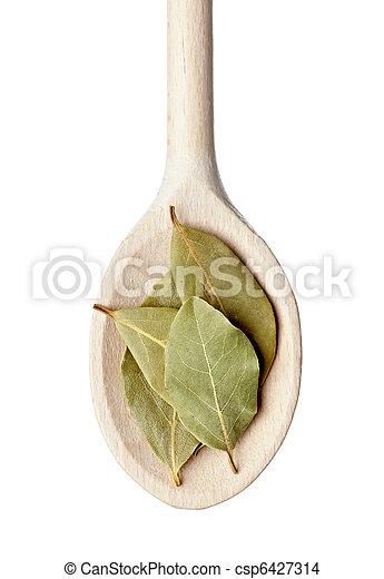 laure bay leaf seasoning food - csp6427314