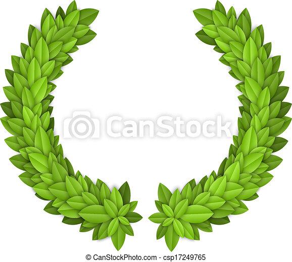 Laurel wreath - csp17249765