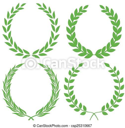 Laurel wreath - csp25310667