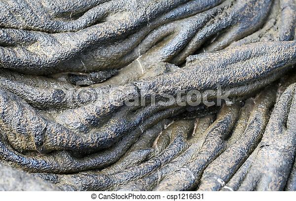 Lava Flow Detail - csp1216631