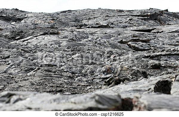 Lava Flow Landscape - csp1216625