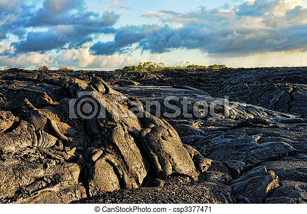 Lava Flow - csp3377471
