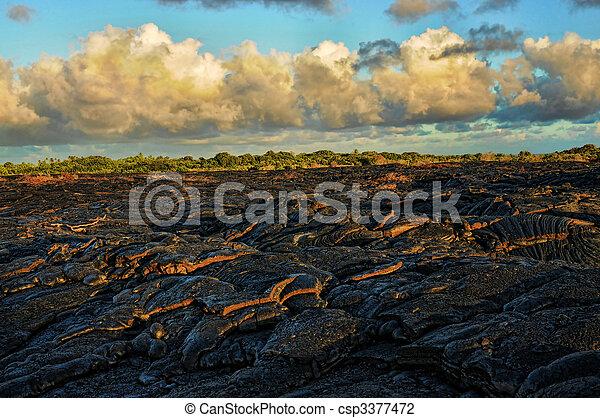 Lava Flow - csp3377472